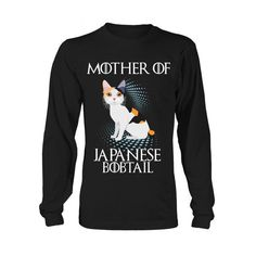 Cat - Mother of JAPANESE BOBTAIL -Unisex Long Sleeve - SSID2016