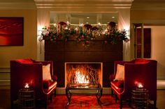 Enjoy a lavish Sunday brunch or a romantic dinner on a settee in front of a glowing fireplace at fyve Restaurant Lounge at The Ritz-Carlton, Pentagon City.