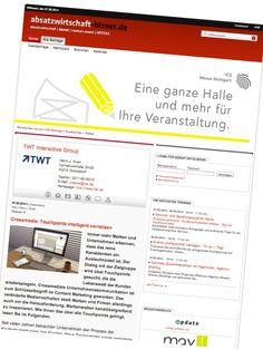 #Crossmedia: Touchpoints intelligent vernetzen. www.absatzwirtschaft-biznet.de/alle-beitraege/gastbeitraege/artikel/detail/crossmedia-touchpoints-intelligent-vernetzen.html?no_cache=1