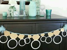 Decor - ring garland