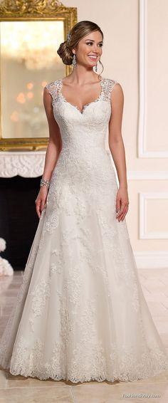 Stella York Wedding Dress 2018 - New Collections Designer Wedding Dress Tulle and Lace Wedding Dress (23)