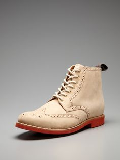 Sharp Derby Boots by Grenson on Gilt.com