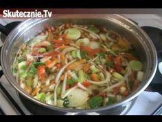 Błyskawiczna zupa chińska z kurczakiem :: Skutecznie.Tv - YouTube