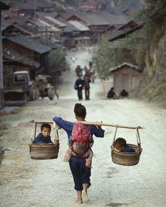 Goddess - Guizhou, China Photo by Kazuyoshi Nomachi