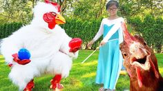 Baby Learn Colors with Bad Chicken in Superheroes Magic Class! Funny Chi...
