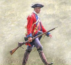 Royal American Soldier - French & Indian War.