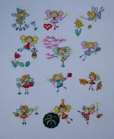 Radka D. Puchnerova's stitched Lucie Heaton Fairies