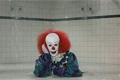 Pennywise in your bathroom.