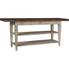 Featuring a 2-tone finish and flip-top design, this lovely console table is the perfect addition to your parlor or entryway.Product: ...