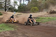 Build an off road go kart track at home