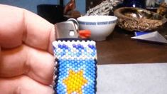 Beading:  Lighter Cover Two Sided Design and Execution