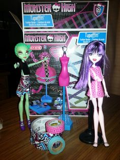Monster High Tapeffiti. It comes with tape, but we also used our own. This is awesome!