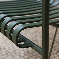 PALISSADE collection - chair, armchair, bar stools, sofa, tables and bench - for indoor or outdoor use Ronan & Erwan Bouroullec, Hay Design, Lounge, Aesthetic Design, Galvanized Steel, Made Goods, Contemporary Furniture, Bar Stools, Armchair