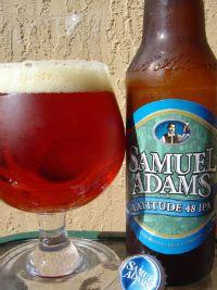 Sam Adams Latitude 48 IPA - Not my favorite of the Sam Adams line, but good nonetheless.