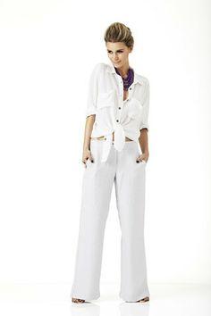Skye Harte Kate Linen Pants $219.00 - Skye Harte