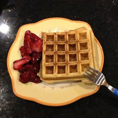 Gluten-Free Coconut Waffles3 organic eggs 1 tablespoon coconut oil, melted (allow to cool before using) 1/4 cup unsweetened applesauce 1 cup egg whites 1/3 cup unsweetened full fat coconut milk 2 teaspoons vanilla 1 tablespoon honey (or few shakes of stevia) dash of cinnamon and nutmeg 1/4 teaspoon unrefined sea salt 1 teaspoon baking soda 1/2 cup coconut flour (sifted) Throw everything in a blender and blend for about 30 seconds until all ingredients are mixed well.
