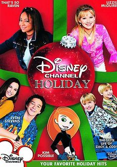Disney CHANNEL Holiday Compilation (DVD)CHRISTMAS Features 5 Holiday EPISODES FROM HIT Disney CHANNEL SERIES. genre - CHRISTMAS media format - DVD