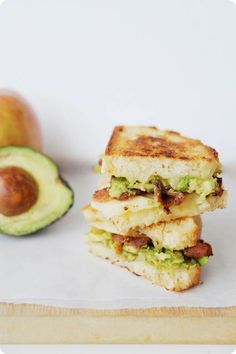 avocado + bacon + grilled cheese | Fashion's Most Wanted