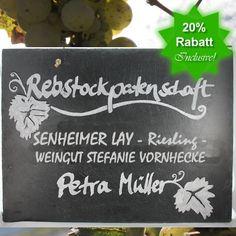Rebstockpatenschaft Weingut Stefanie Vornhecke Senheimer Lay - Riesling - Senheim/Mosel Land / Region / Winzer Deutschland Mosel Weingut S. Vornhecke Rebstockpatenschaften