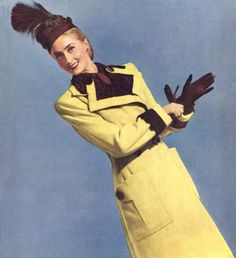Military influenced coat by Creed 1948