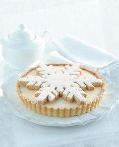 {Nosh} snow flake tart
