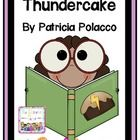 Bring some literature to your weather unit by reading Thundercake by Particia Polacco. It is a wonderful memoir that recaps how a child learns to overcome her fear of storms by making thundercake.  Included in this file you will find the following: An About the Author Page A compare sheet for you and the author 4 mini posters for the definitions of memoir, theme, plot, and character traits A 5 day plan for using the book in reading. 6 labels for an anchor chart for the book  $9.99
