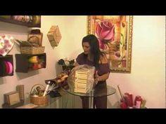 Como fazer Rosa com fita de TNT - Criative Cursos - Aula 2 - YouTube