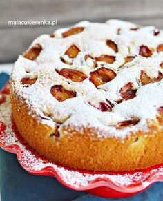 Szybkie PUSZYSTE Ciasto ze ŚLIWKAMI Polish Desserts, Polish Recipes, Baking Recipes, Cookie Recipes, Dessert Recipes, Sandwich Cake, Breakfast Menu, Baking And Pastry, Food Decoration
