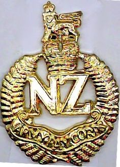 New Zealand Army Pay Corps collar badge