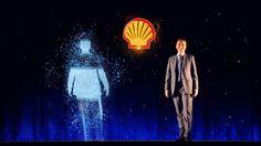 Голографическая презентация Shell   Holographic presentation for Shell on Vimeo