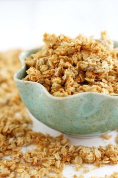 The best banana coconut granola recipe! Delicious and easy to make.