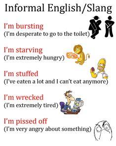 Informal English/Slang