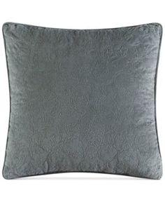"J Queen New York Seville 18"" Square Decorative Pillow - Driftwood"