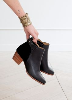 Bottines Marcelle - Lookbook Automne Hiver - www.sezane.com #sezane #bottines #marcelle #lookbook