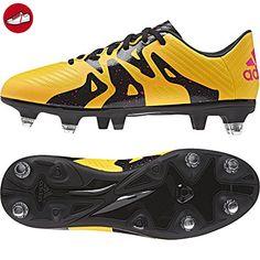 adidas Unisex Baby Ace 15.4 TF J Fußballschuhe, Schwarz / Silber / Grün /  Weiß (Negbas / Plamat / Menimp), 34 EU - Adidas schuhe (*Partner-Link)    Pinterest