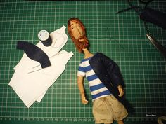 The Sailor and The seagull: puppet creation process | Noemi Mare