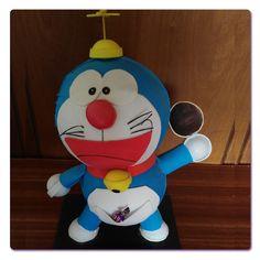 Doraemon, hecho en Goma Eva, para pedir uno igual ir a la web