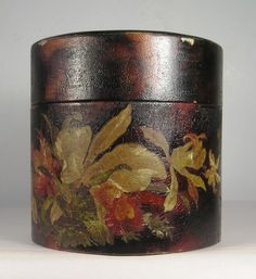 Vintage or Antique Hand Painted Beautiful Color Box G40 | eBay