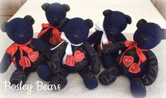 Memory Bears, First Love, Memories, Memoirs, Souvenirs, First Crush, Puppy Love, Remember This
