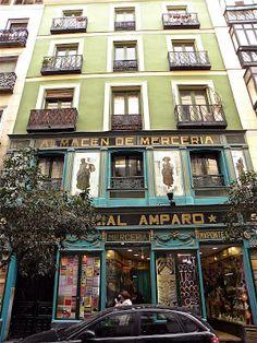 COMERCIAL AMPARO. Pontejos, 5 .Madrid