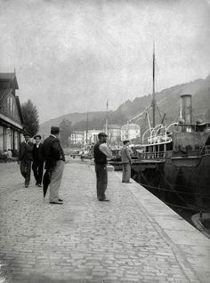 Bilbao, Basque Country, Barbados, Spain, Street View, France, City, Image, Antique Photos