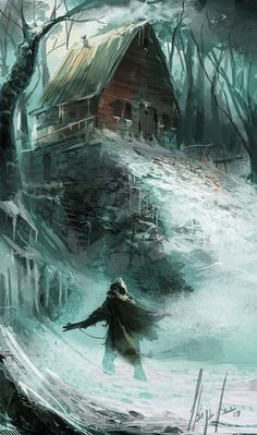 "Alone In the Dark: Book 2  ""Kaldon struggled to fight off the wind, ice, and snow, but the power of the Elves was too strong for him to counteract."""