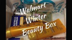 Walmart Winter Beauty Box 2014 Unboxing