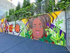 MICHAEL JORDAN and KOBE BRYANT on Behance Kobe Bryant Michael Jordan, Georgia, Jordans, Basketball Court, Behance, Painting, Art, Art Background, Painting Art