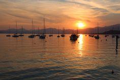 Sunset, Bardolino, Italy