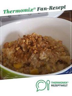 Porridge mit Apfel / Haferbrei (vegan) von An8ie. Ein Thermomix ® Rezept aus der Kategorie Desserts auf www.rezeptwelt.de, der Thermomix ® Community.