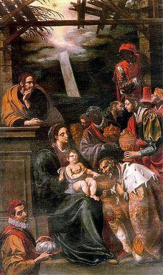 Luis Tristán - Adorazione dei Magi nel Convento de Santa Clara. Toledo