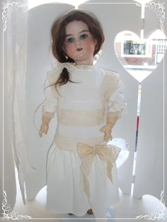 Lovely dress for my antique doll