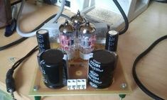 Omhoog Circuits, Audio, Valve Amplifier