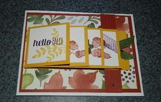 Here you will find ideas, techniques and sample projects using stamps and punches to help you create one-of-a-kind cards and scrapbook pages from Stampin' UP! Fancy Fold Cards, Folded Cards, Waterfall Cards, Autumn Cards, Fall Fest, Rubber Stamping, Pop Up Cards, Halloween Cards, Stampin Up Cards